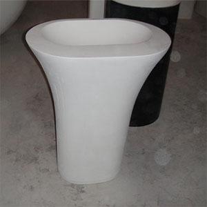 Chậu lavabo chân dài Moonoah MN-DR003