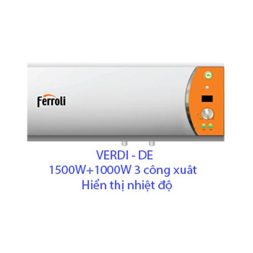 Bình nóng lạnh Ferroli 30L VERDI-DE