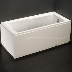 Bồn tắm xây không chân yếm Caesar AT0550