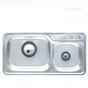 Chậu rửa bát 2 hố Hàn Quốc ECOFA ESD 960P (96*49.5 cm)