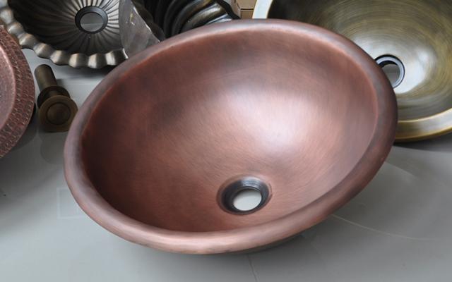 Chậu rửa mặt đồng KANLY RSC-319 ( đặt bàn) 2