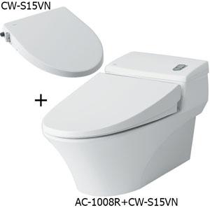 Bồn cầu nắp rửa cơ Inax AC-1008R+CW-S15VN