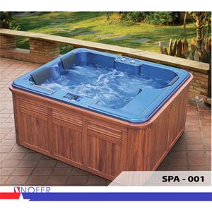Bồn tắm Massage EuroKing-Nofer SPA-001