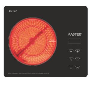 Bếp điện đơn Faster FS - 118E
