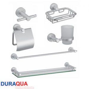 Bộ phụ kiện phòng tắm nhôm Duraqua 6900M