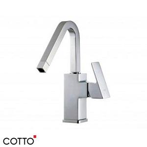 Vòi rửa bát nóng lạnh có dây rút gắn chậu COTTO CT-287A
