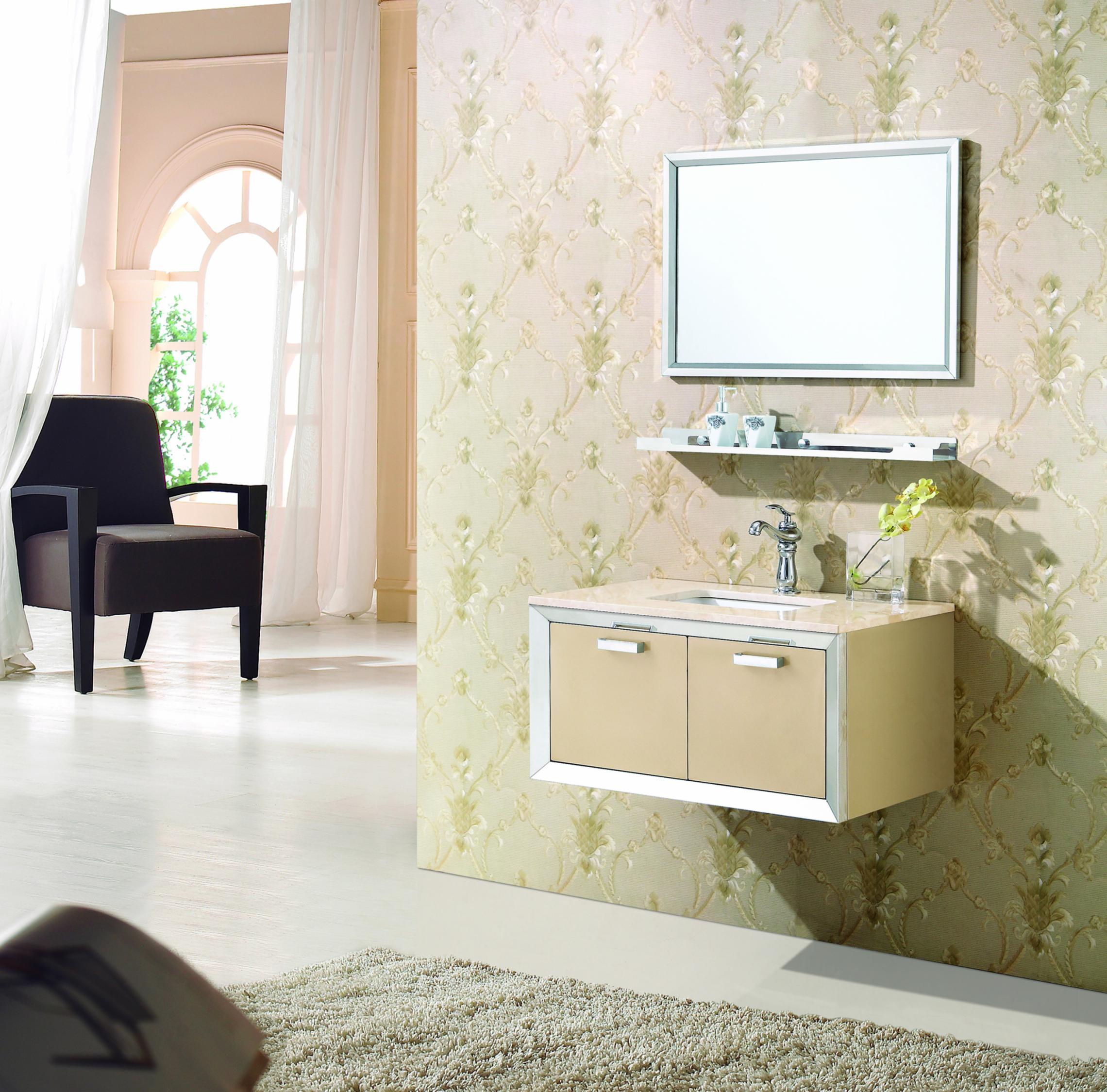 Bộ tủ chậu lavabo phòng tắm SUS304 MN-8809 2