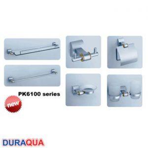 Bộ phụ kiện phòng tắm 6 món Duraqua PK6100