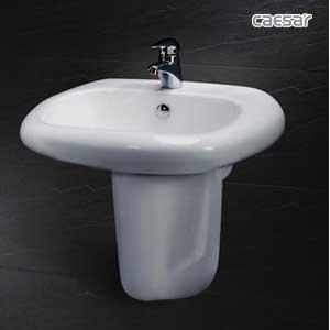 Chậu rửa chân lửng Caesar L2560+P2441