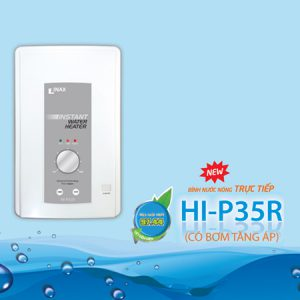 Bình nóng lạnh trực tiếp cao cấp HI-P35R( có bơm)