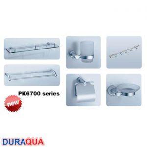 Bộ phụ kiện phòng tắm 6 món Duraqua PK6700