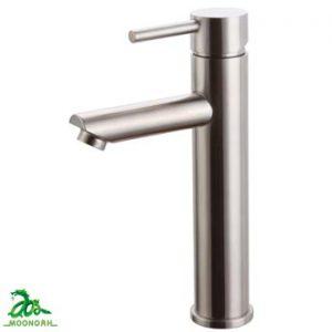 Vòi rửa lavabo nóng lạnh inox 304 Moonoah 2375