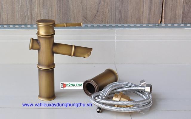 Vòi rửa mặt đồng nóng lạnh KANLY GC-A02 2