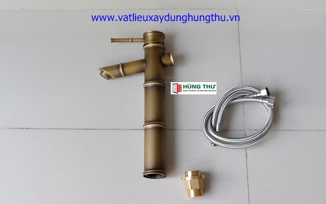 Vòi rửa mặt đồng nóng lạnh KANLY GC-A02 3
