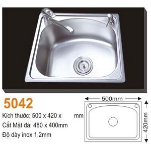 Chậu rửa bát AMTS 5042 (50x42cm) 1