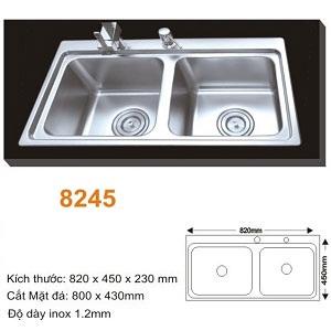 Chậu rửa bát AMTS 8245 (82x45cm) 1