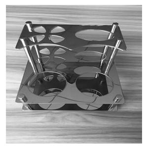 Kệ bàn chải đánh răng đặt bàn inox 304 Geler 200A2