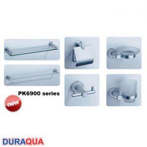Bộ phụ kiện phòng tắm 6 món Duraqua PK6900