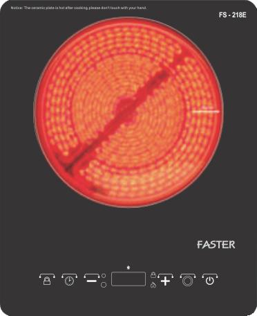 Bếp điện đơn Faster FS - 218E 1