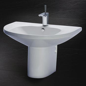 Chậu rửa chân lửng Caesar LF2270+PF2470