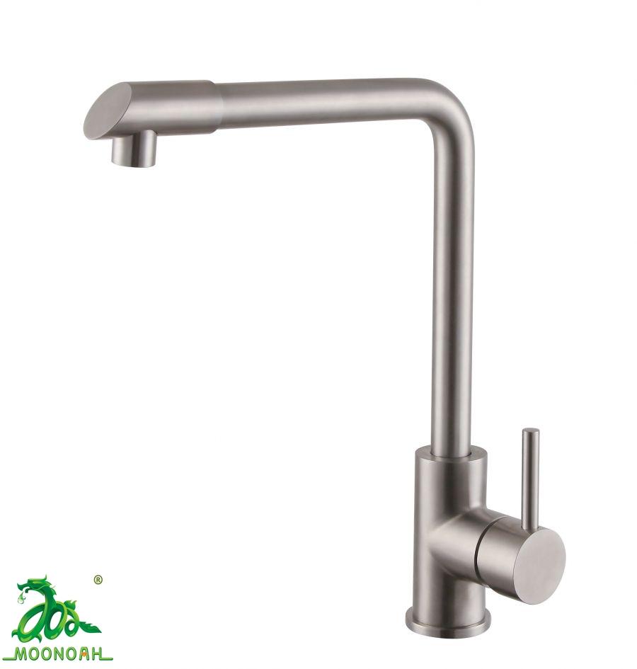 Vòi rửa bát nóng lạnh inox 304 Moonoah MN-2316