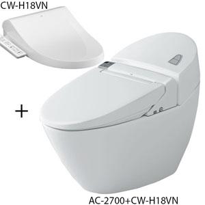 Bồn cầu nắp rửa điện tử Inax AC-2700+CW-H18VN