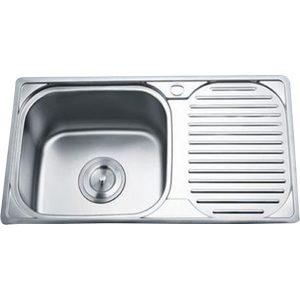 Chậu rửa bát 1 hố 1 bàn GORLDE GD-0289