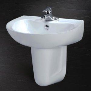 Chậu rửa chân lửng Caesar L2155+P2441
