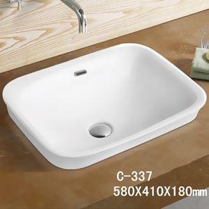 Chậu rửa dương bàn MOONOAH MN-C337 (58*41*18cm)