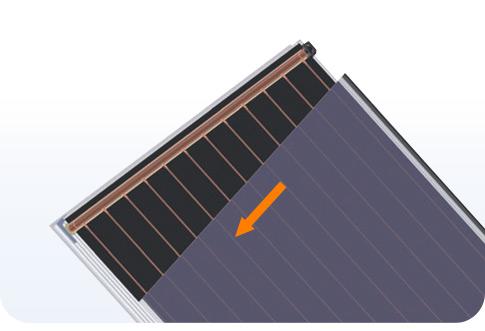 Bình năng lượng mặt trời ferroli dạng tấm 11