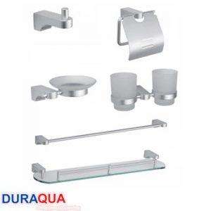 Bộ phụ kiện phòng tắm nhôm Duraqua 8300