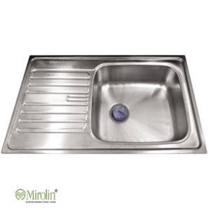 Chậu rửa bát inox Mirolin MT860S-1B1D 1