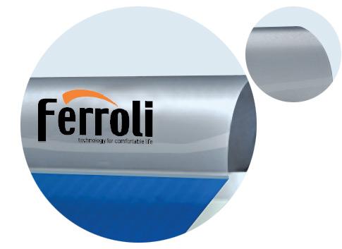 Bình năng lượng mặt trời ferroli dạng tấm 12