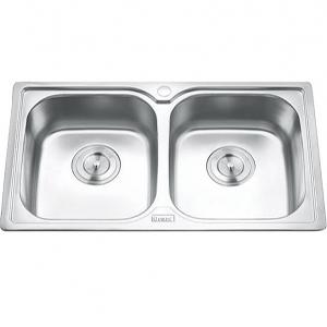Chậu rửa bát 2 hố cân GORLDE GD-5212
