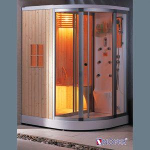 Phòng xông hơi Nofer SN - 602R xông hơi khô,ướt 1600*12000*2150