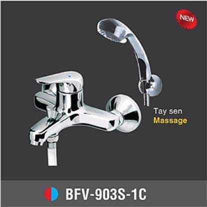 Vòi sen tắm nóng lạnh INAX BFV-903S-1C 1