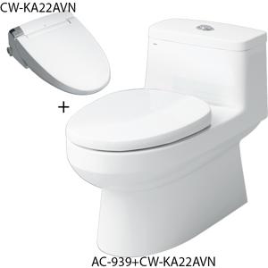 Bồn cầu nắp rửa điện tử Inax AC-939+CW-KA22AVN