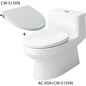 Bồn cầu 1 khối nắp rửa cơ Inax AC-939+CW-S15VN