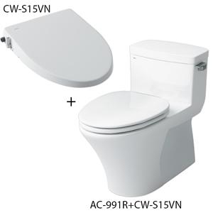 Bồn cầu nắp rửa cơ inax AC-991R+CW-S15VN
