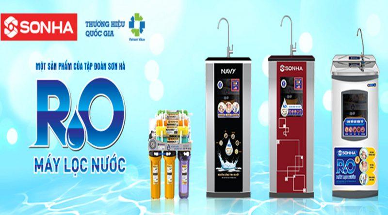 Máy lọc nước không tủ Sơn Hà SHRO.108 1