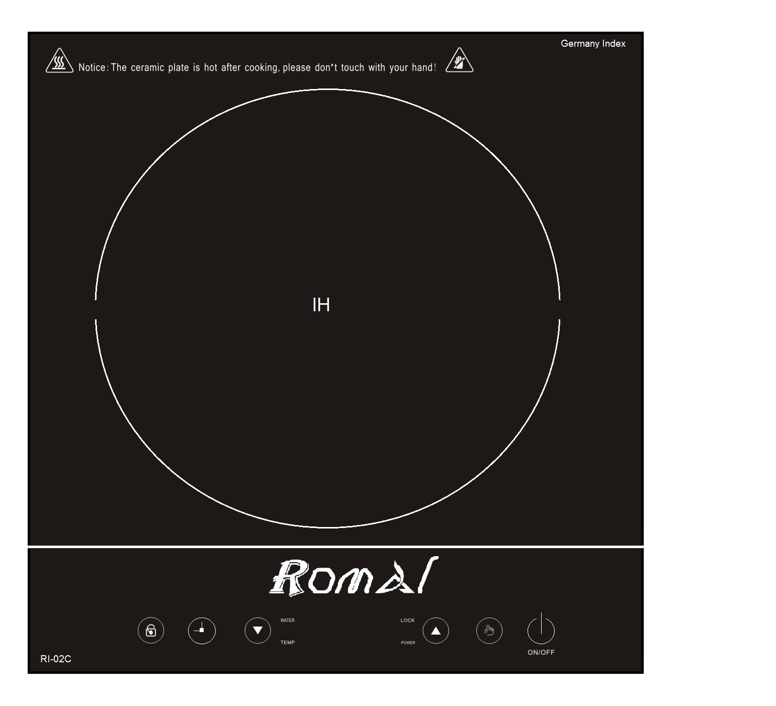 Bếp từ đơn Romal RI-02C 1