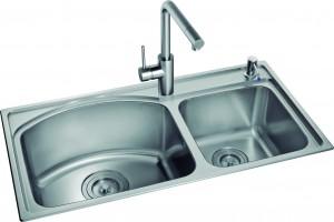 Chậu rửa bát inox Romal RS – 8444 1