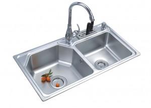 Chậu rửa bát inox Romal RS – 8447 1