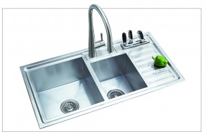 Chậu rửa bát inox Romal RS – 8845B 1