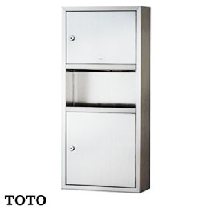 Tủ đựng giấy kết hợp thùng rác TOTO DS712U