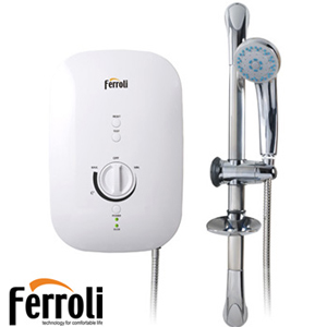 Bình nóng lạnh Ferroli Divo SSP( có bơm tăng áp)
