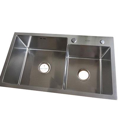 Chậu rửa bát AMTS H-7643 (92x45cm) 1