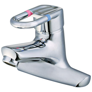 Vòi rửa lavabo nóng lạnh Caesar B342CU