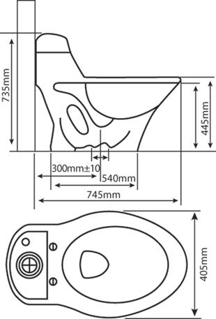 Bệt két liền 1003-HC01 2