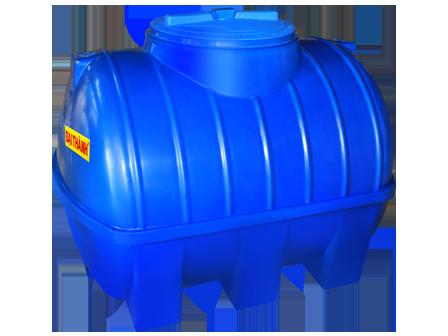 Bồn nước nhựa thế hệ mới 400L ngang 1